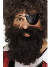Pirate Brown Bushy Beard